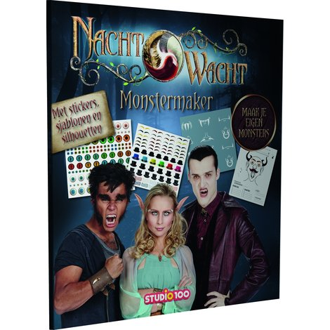 Livre Surveillance de nuit : Monstermaker 2