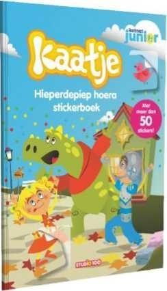 Stickerboek Kaatje: Kerst