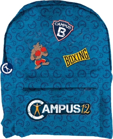Backpack Campus 12: 36x27x10 cm