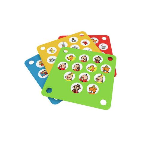 Wat zit er verstopt onder Bumba's hoedjes? Dit leuke memoryspel in hout laat je kleintje kennismaken met Bumba en zijn vriendjes. Speel maar liefst acht varianten op het spel door de kaartjes te verwisselen! Als je twee dezelfde tekeningen vindt, mag je d