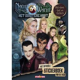 Stickerbook Montre de nuit : Le coeur sombre