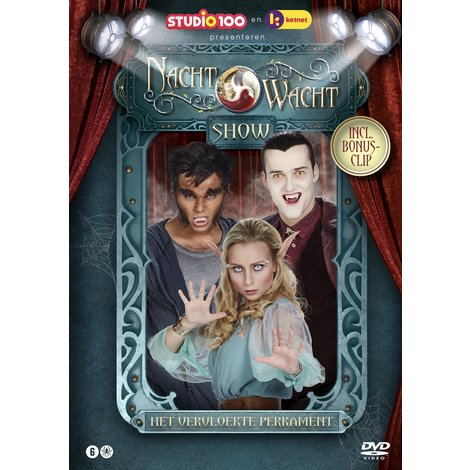 DVD Nachtwacht: The Cursed Parchment