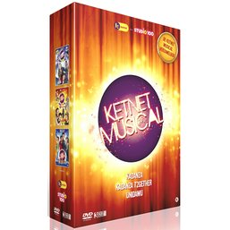Dvd box Studio 100: Ketnet musicals full. 1