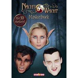 Maskerboek Nachtwacht met 10 maskers