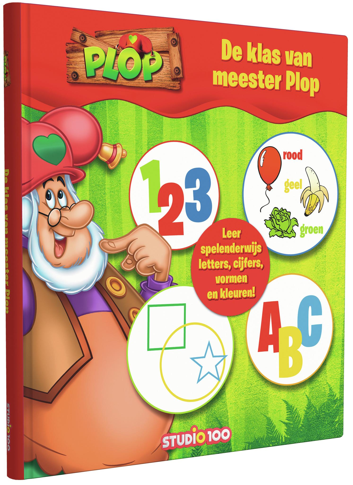Boek Plop: De klas van Meester Plop