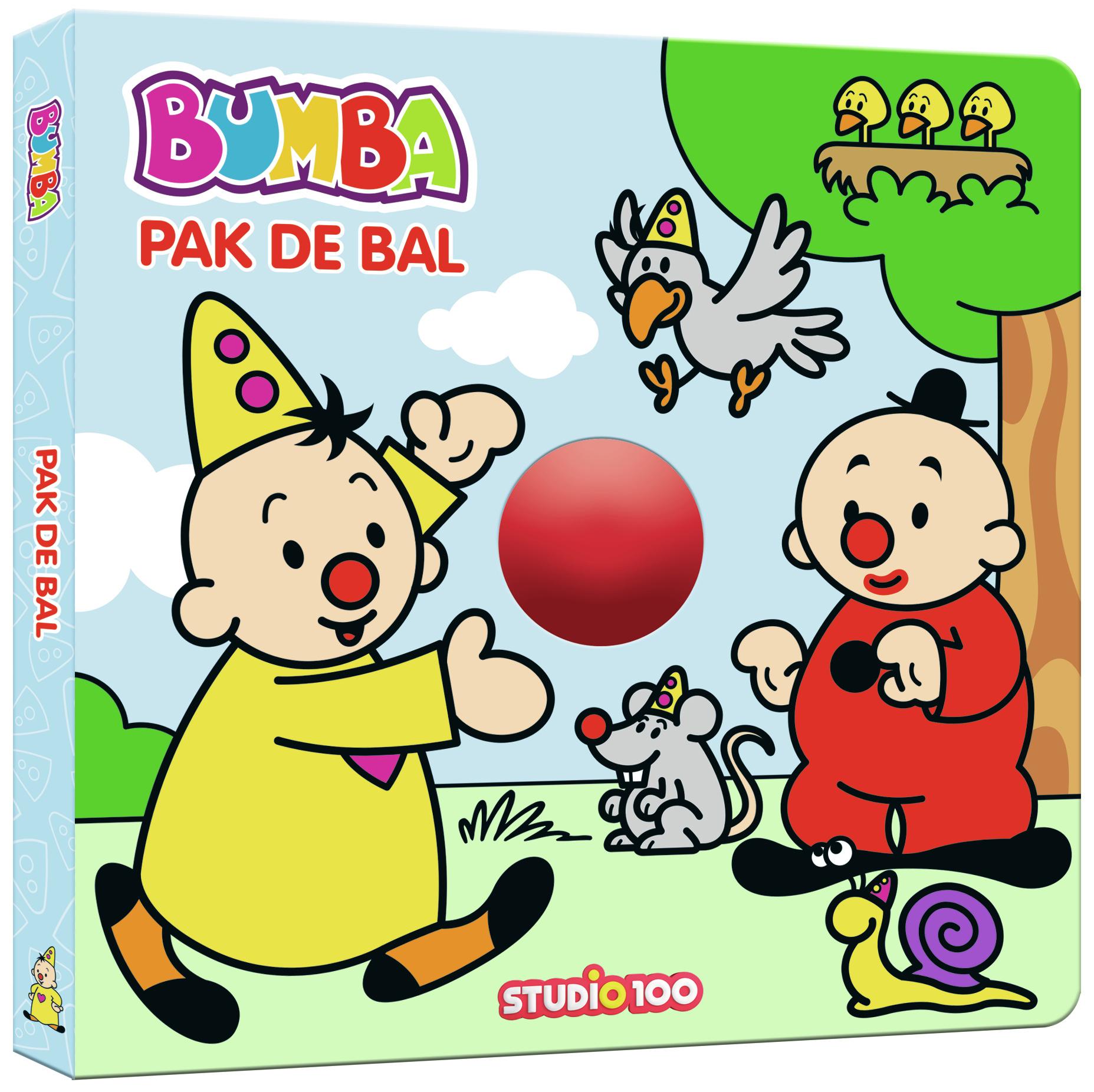 Boek Bumba: Pak de bal