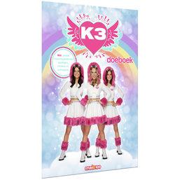 Doeboek met sceneplaat K3: Dromen