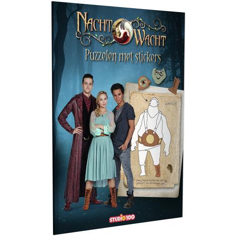 Doeboek Nachtwacht: Puzzelen met stickers