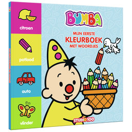 Kleurboek met woordjes Bumba