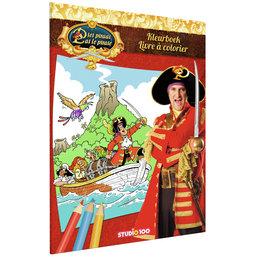 Kleurboek Piet Piraat