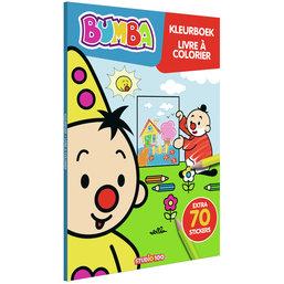 Kleurboek Bumba met stickers