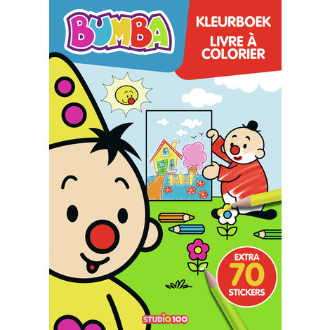 Colorbook Bumba with stickers