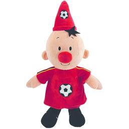 Pluche Bumba: voetballer Belgie 40 cm