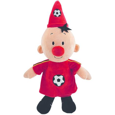 Bumba plush: Soccer player Belgium 40 cm