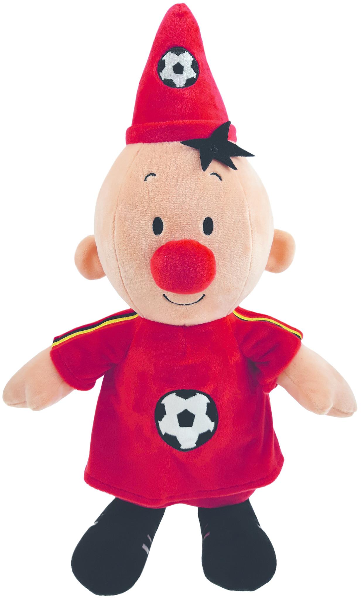 Bumba pluche: voetballer België 40 cm