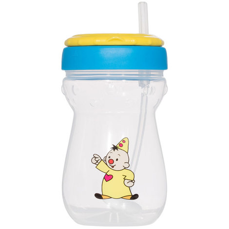 Drinking cup with straw: Bumba