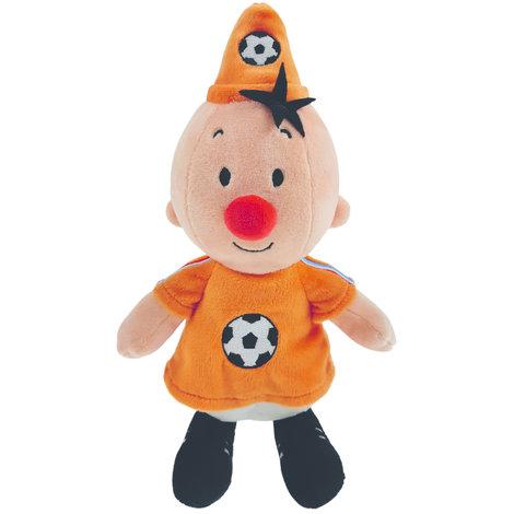 Pluche Bumba: voetballer Nederland 20 cm