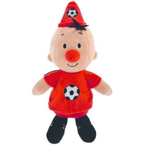 Pluche Bumba: voetballer Belgie 20 cm