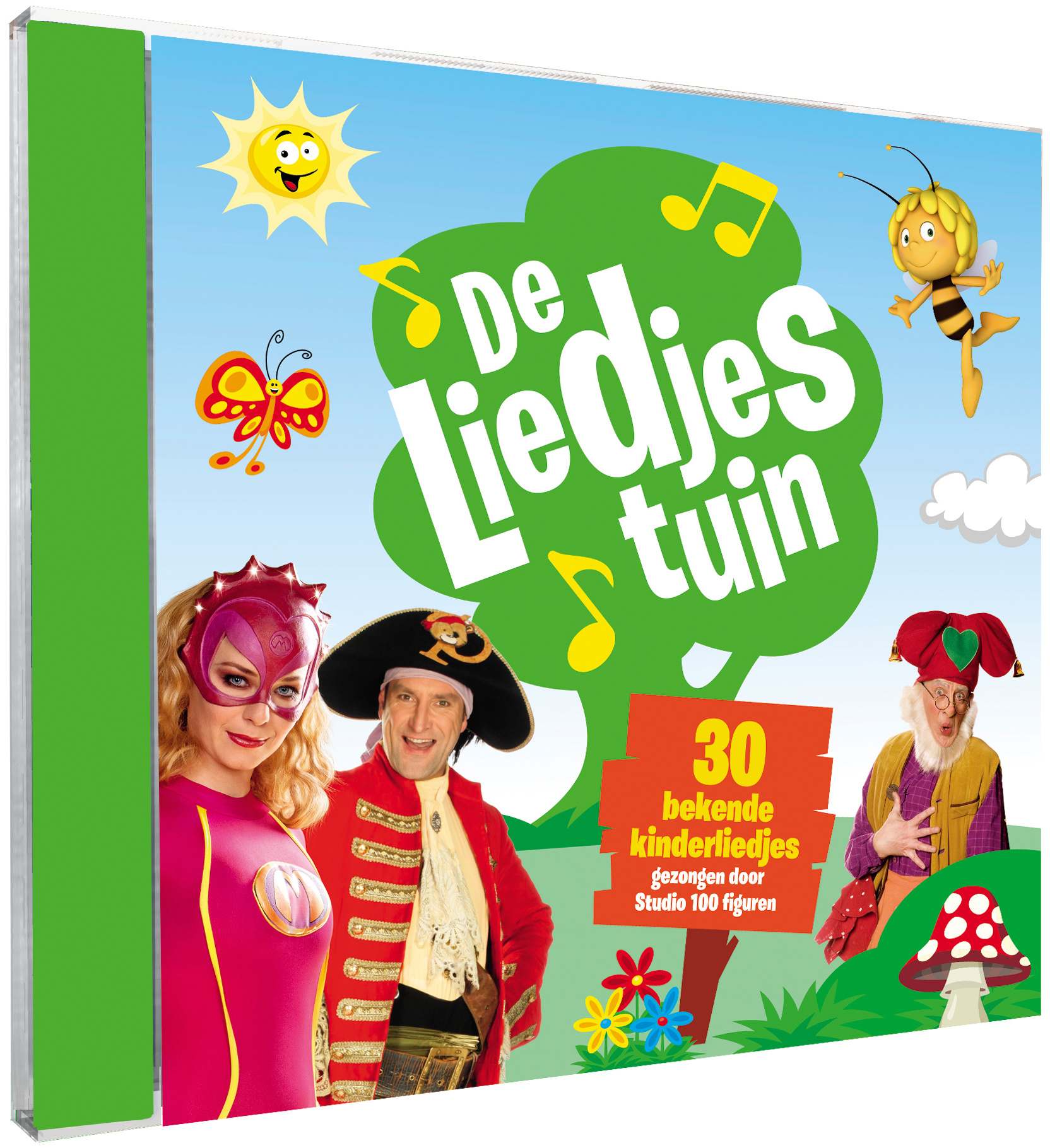 Cd Studio 100: De Liedjestuin