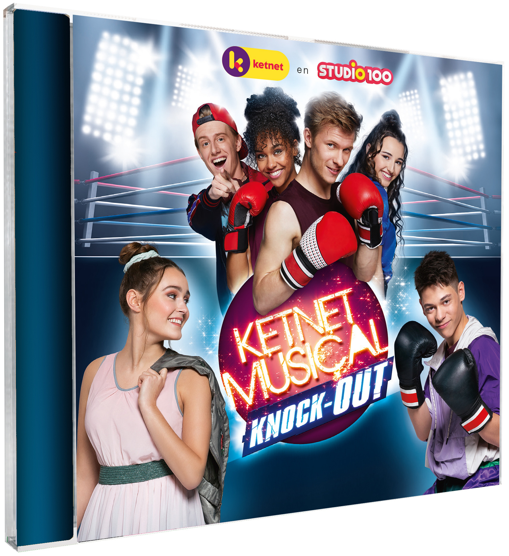 Cd Studio 100: Ketnet musical - Knock out