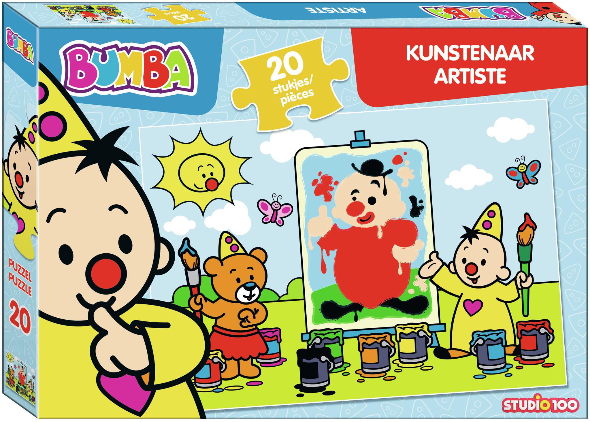 Puzzel Bumba kunstenaar Bumba: 20 stukjes