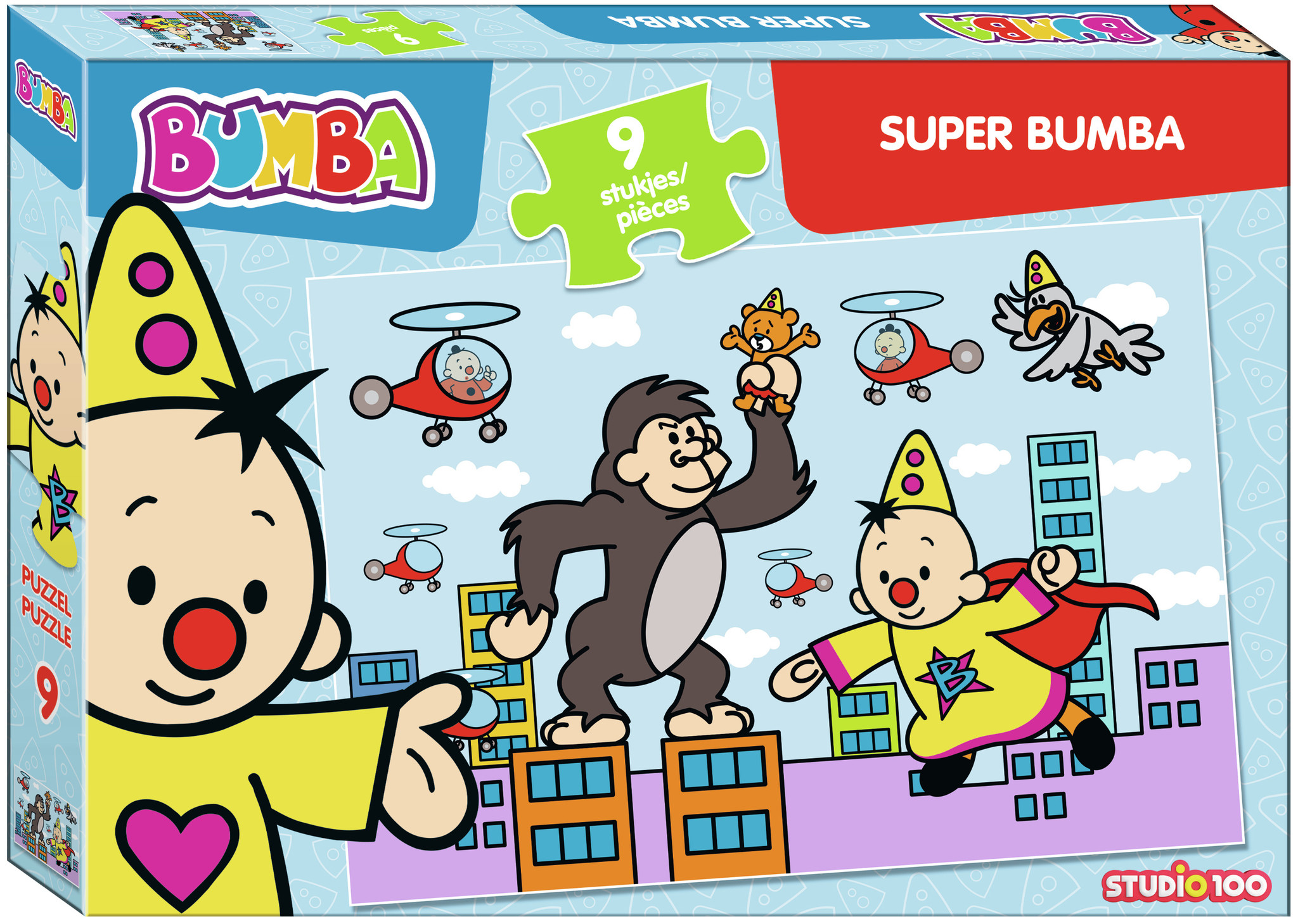 Puzzel Bumba super Bumba: 9 stukjes