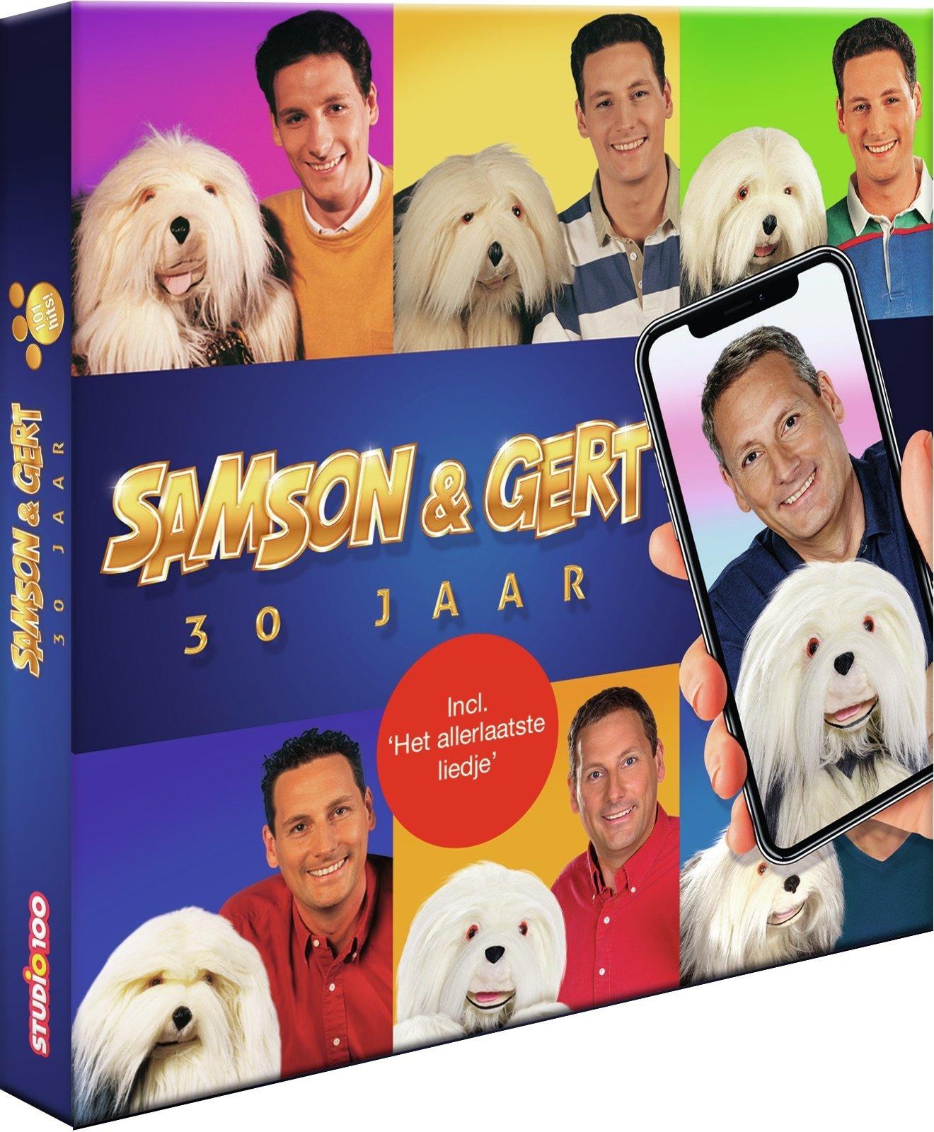 Samson & Gert CD: 30 jaar Samson & Gert