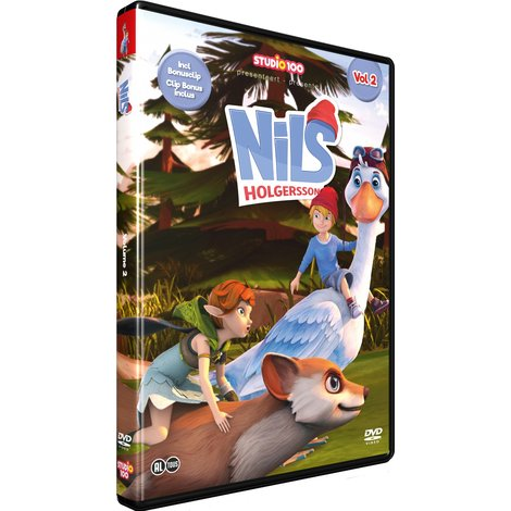 Studio 100 DVD - Nils Holgersson vol. 2
