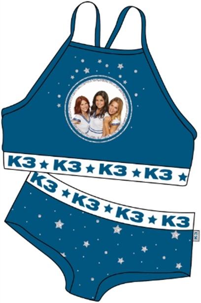 Bikini K3: sterren - maat 134/140