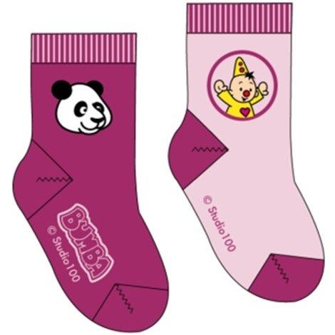 Sokken Bumba: 2-pack Panda - maat 19/22