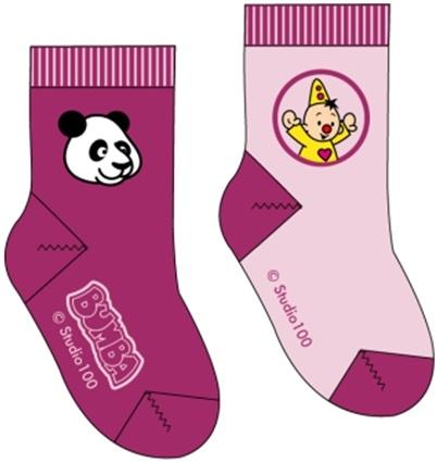 Sokken Bumba: 2-pack Panda - maat 23/26