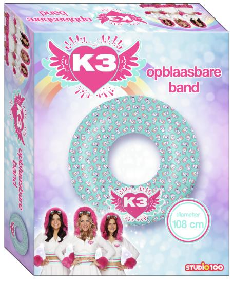 Opblaasbare band K3: 108 cm