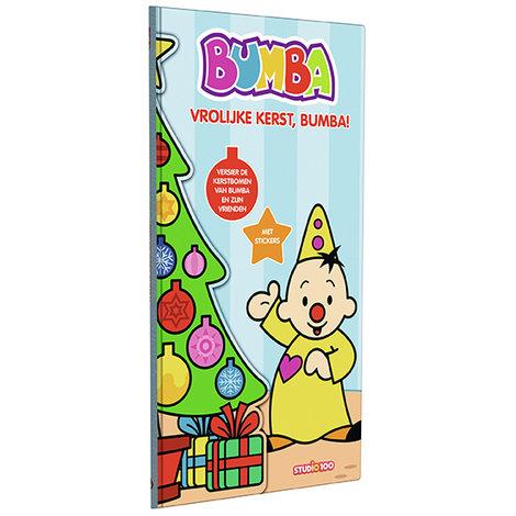 Boek Bumba: Kerstboomboek met stickers