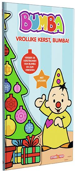 Livre Bumba : Livre arbre de Noël avec autocollants