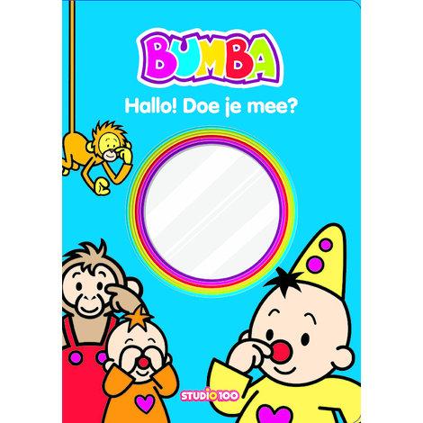 Boek Bumba met spiegel: Hallo doe je mee