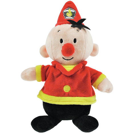 Pluche Bumba: Brandweerman 20 cm