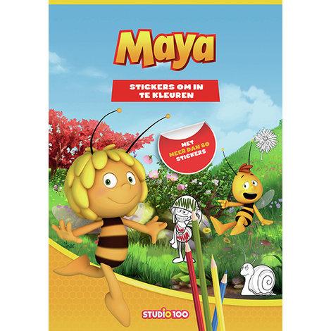 Sticker- en kleurboek Maya