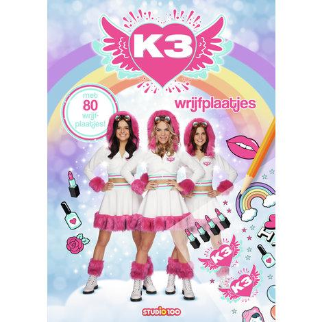 Boek K3: Wrijfplaatjesboek