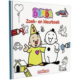 Zoek- en kleurboek Bumba