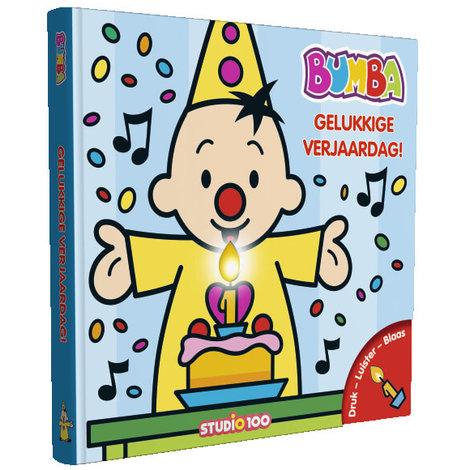 Boek Bumba: Verjaardagsboek met kaars en muziek