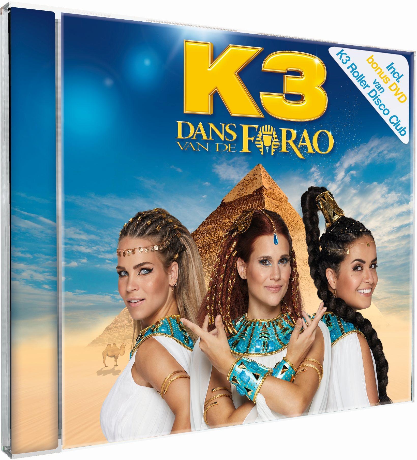 K3 CD - Dance of the Pharaoh