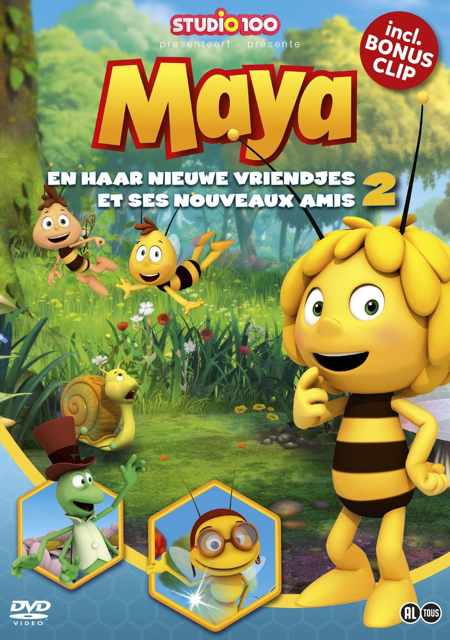 Maya de Bij DVD - Maya en haar nieuwe vriendjes