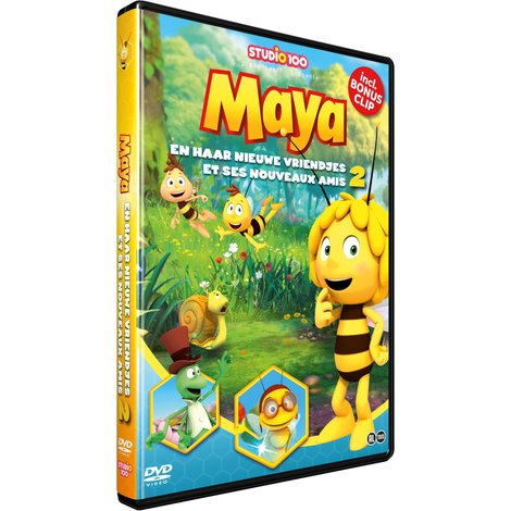 Maya de Bij DVD - Maya and her new friends