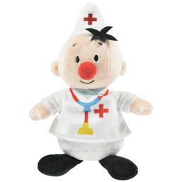 Bumba Pluche knuffel - Dokter 20 cm