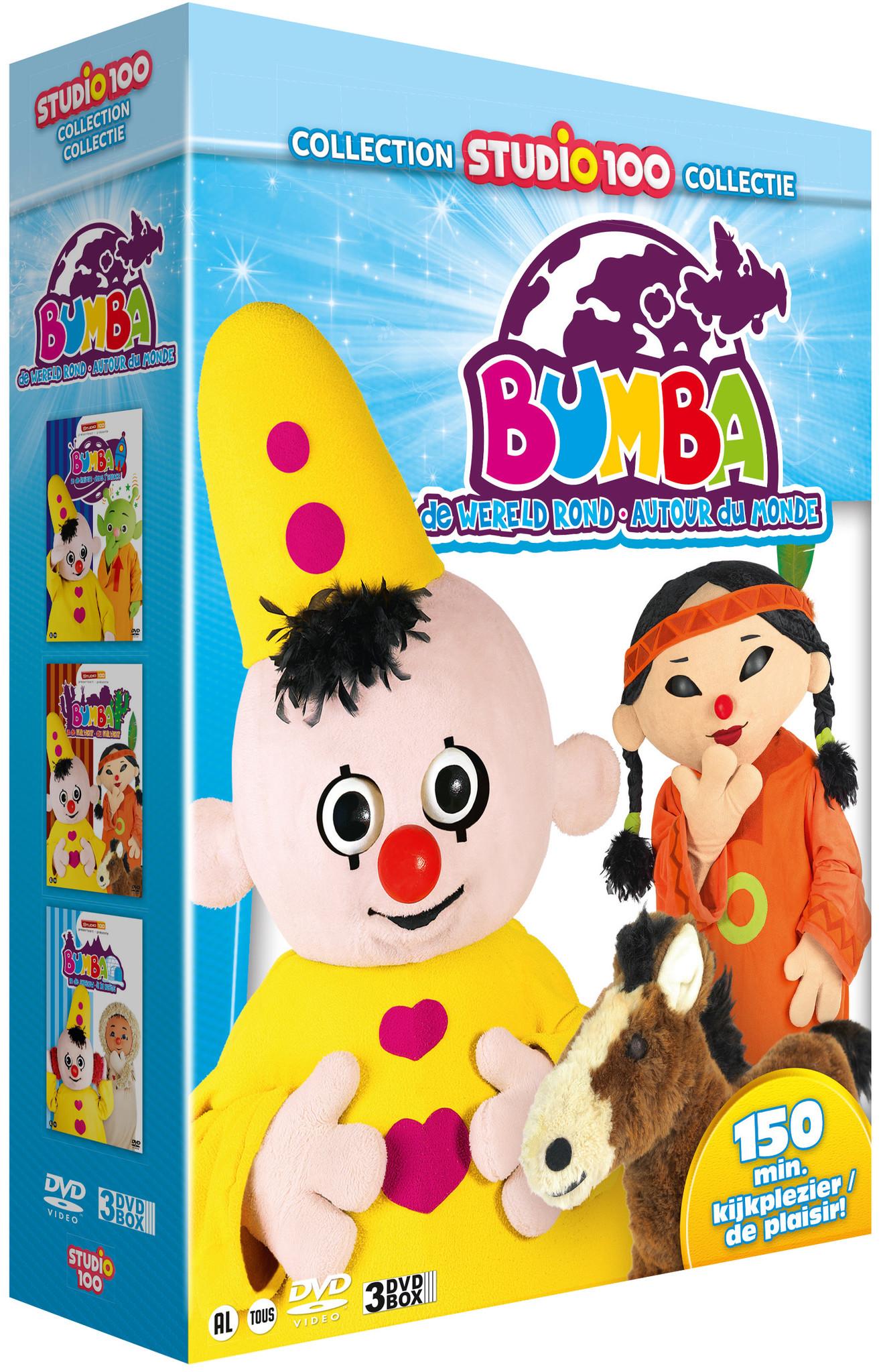 Dvd box Bumba: wereld rond vol. 2