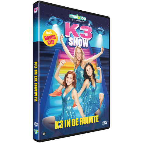 Dvd K3: K3 in de ruimte