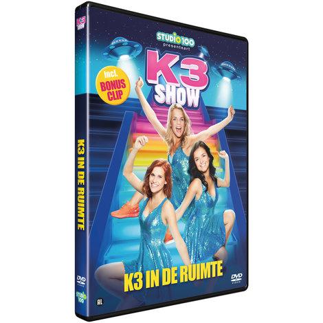 K3 DVD - In de ruimte