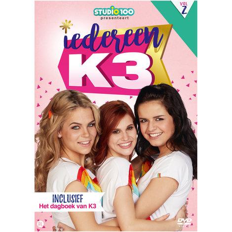 Dvd K3: iedereen K3 vol. 2