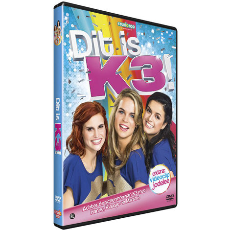 K3 DVD- dit is K3
