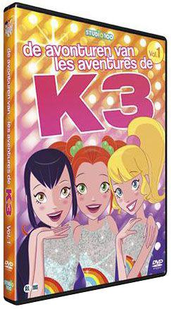 K3 DVD - Avonturen van K3 vol.1